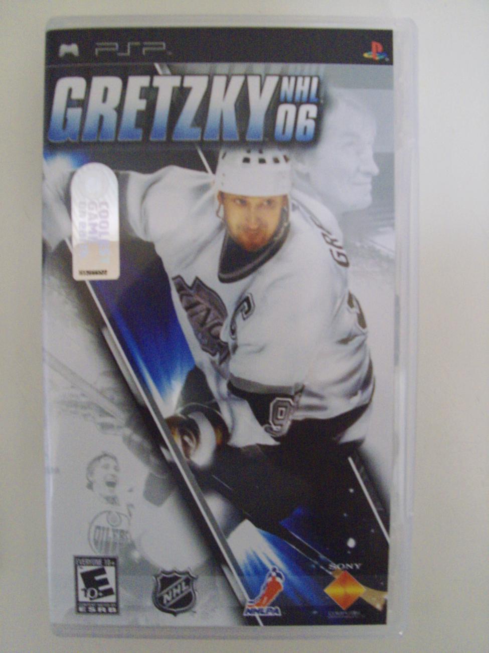 Wayne Gretzky NHL 06 PSP Playstation Portable