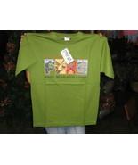 Unisex Green T-shirt, Peru print, pure cotton with round neck  - $32.00