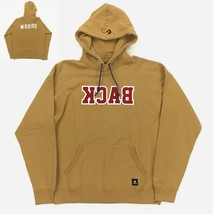 New Converse x Clot Hoodie Size Large Men's 'Back Woods' Brown Red LA 10... - $99.97
