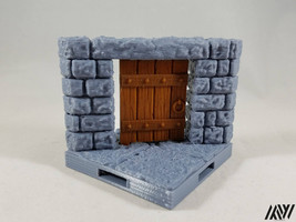 DragonLock Ultimate Angled Wall with Movable/Removable Door Tile - $4.99
