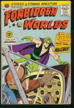 FORBIDDEN WORLDS #125- FIRST APPEARANCE MAGICMAN ORIGIN VG+ - $37.25