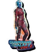 Guardians of the Galaxy Vol 2 Nebula Figure Chunky 3-D Die-Cut Magnet NE... - $5.90