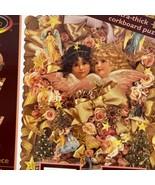 Ceaco Sogno Angeli Silhouette Ultra-Thick Bacheca 577 Pezzi Puzzle Completo - $20.77