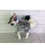 Bratz Petz Cat Black White Poof Tail Plush Stuffed Animal Toy Doll - $19.79