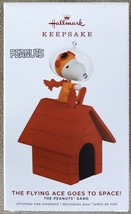 Hallmark Keepsake 2019 The Peanuts Gang The Flying Ace Goes to Space! Or... - $21.95
