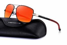 MERRY'S Mens Driving Polarized Sunglasses for Men Square 45mm Sun glasse... - $26.21