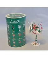"Lolita Love My Wine ""HOLIDAY SPLASH"" Christmas Ornament Mini Wine - $14.85"