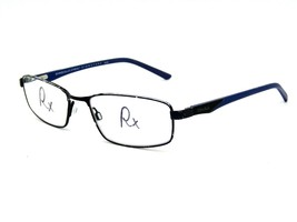 Shaquille O'Neal Signature 4005 Eyeglasses Frame 300 Black / Blue 53-17-... - $44.50