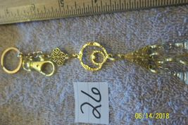 # purse jewelry gold color cross shell keychain backpack dangle charm #26 image 3