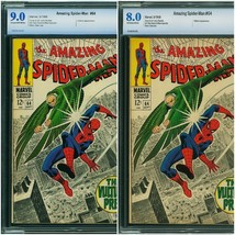 Amazing Spider-man #64 (Marvel, 1968) - Choice of CBCS 8.0 or 9.0 - $123.75+