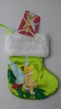 Disney Green Satin Mini Tinker Bell Peter Pan Character Christmas Boot S... - €4,35 EUR