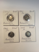 Some Really nice Proof Roosevelt Dimes - $23.00