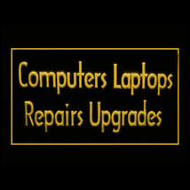 130048B Computers Laptops Repairs Upgrades Windows Crash Solution LED Light Sign - $18.00