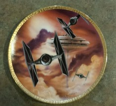 Star Wars Collector Plate TIE Fighters Space Ve... - $24.77
