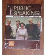 NEW!The Art of Public Speaking 11 Ed by Stephen Lucas Glendale Community... - $59.99