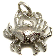Sterling Silver Crab Charm by Welded Bliss - $13.09