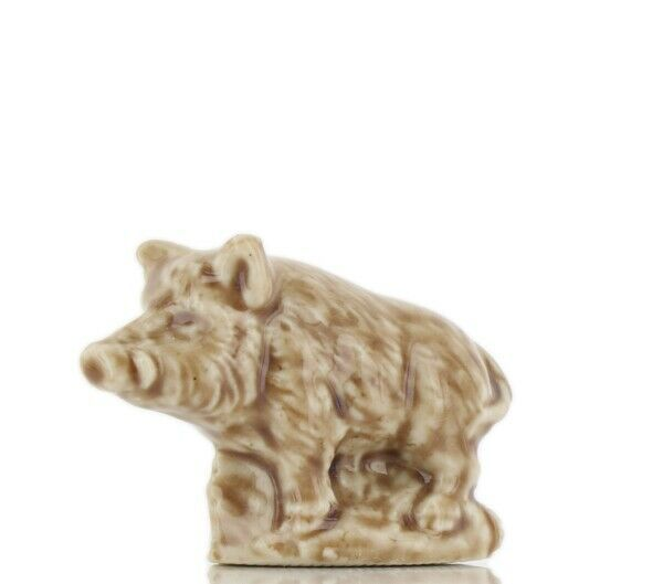 Whimsies Wade England Miniature Canadian Series Wild Boar