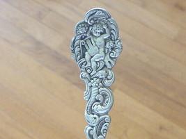 12 25 1890 Cherub Versailles Gorham Sterling Silver Spoon Teaspoon Willie Lyon - $52.47