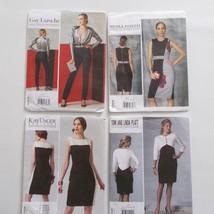 Vogue Pattern Lot Designer Original Size Ax5 F5 Laroche Platt Finetti - $34.64