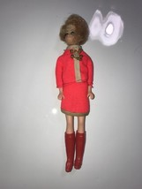 Vintage 1970 Topper doll 6 Inch Doll + Outfit & boots rare Please view a... - $28.04