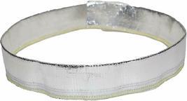 "Heat Sheath Aluminized Sleeving Heat Shield Protection Barrier 1"" x 36"" (3ft) image 5"