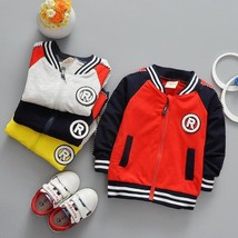 Baby Boy Clothes Boys Jacket Varsity Letterman Boys Outwear Children Kids - $29.69 CAD+