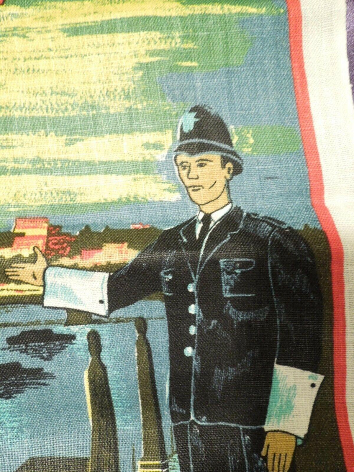 Vintage London by Night by Blackstaff Pure Irish Linen Towel Art image 9