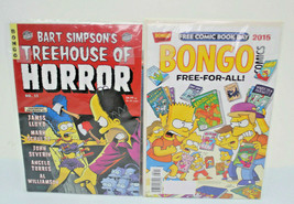 Assorted Simpsons Comics Bundle Pre-Owned Lot Of 2  - $19.79