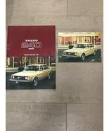 1977 VOLVO 240 SERIES BROCHURE 242 244 245 & Postcard - $20.00