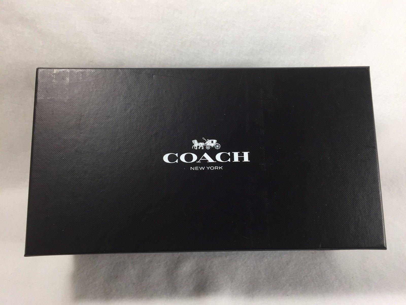 Awesome Shoebox Photo Storage #22 - Coach Shoe Box Size 7 1/2 EMPTY Storage Shoebox 21541