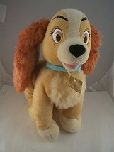 "Vintage  Lady & the Tramp Cocker spaniel plush  12""  Walt Disney store London - $19.79"