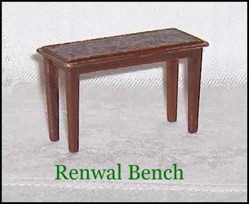 Primary image for Renwal Bench or Small Table Dollhouse Furniture