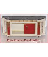 Petite Princess Ornate Royal Buffet  Ideal  Fantasy Dollhouse Furniture - $8.81