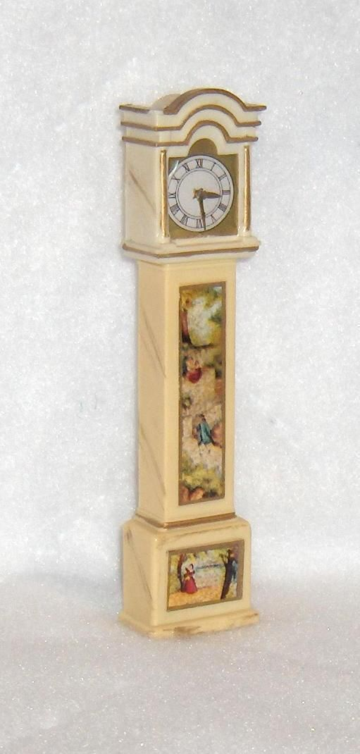 Primary image for Grandfather Clock  Ideal Petite Princess Dollhouse Furniture