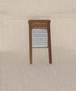 Wooden Washboard   Vintage  Wood Dollhouse Furniture - $12.60