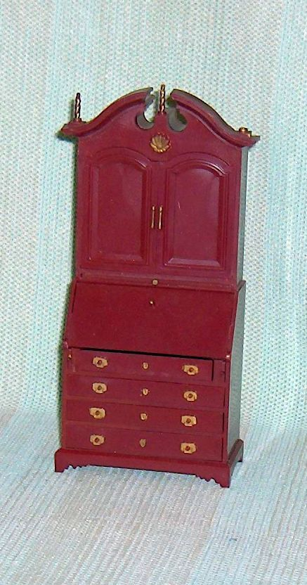 Primary image for Marx Secretary Desk Hard Plastic Dollhouse Furniture