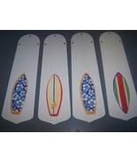 CUSTOM TROPICAL SURF BOARD SURFBOARD CEILING FAN with LIGHT - $99.99