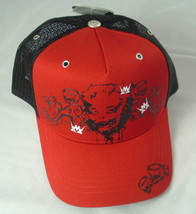 Red/Black Hat by Metalidz Skulls NWT Free Shipping - $11.90