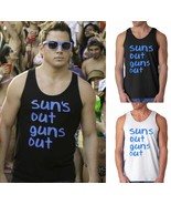 Suns Out Guns Out Tank Top 22 Jump Street Party... - $15.85