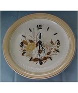 Stoneware Plate Clock - $13.00