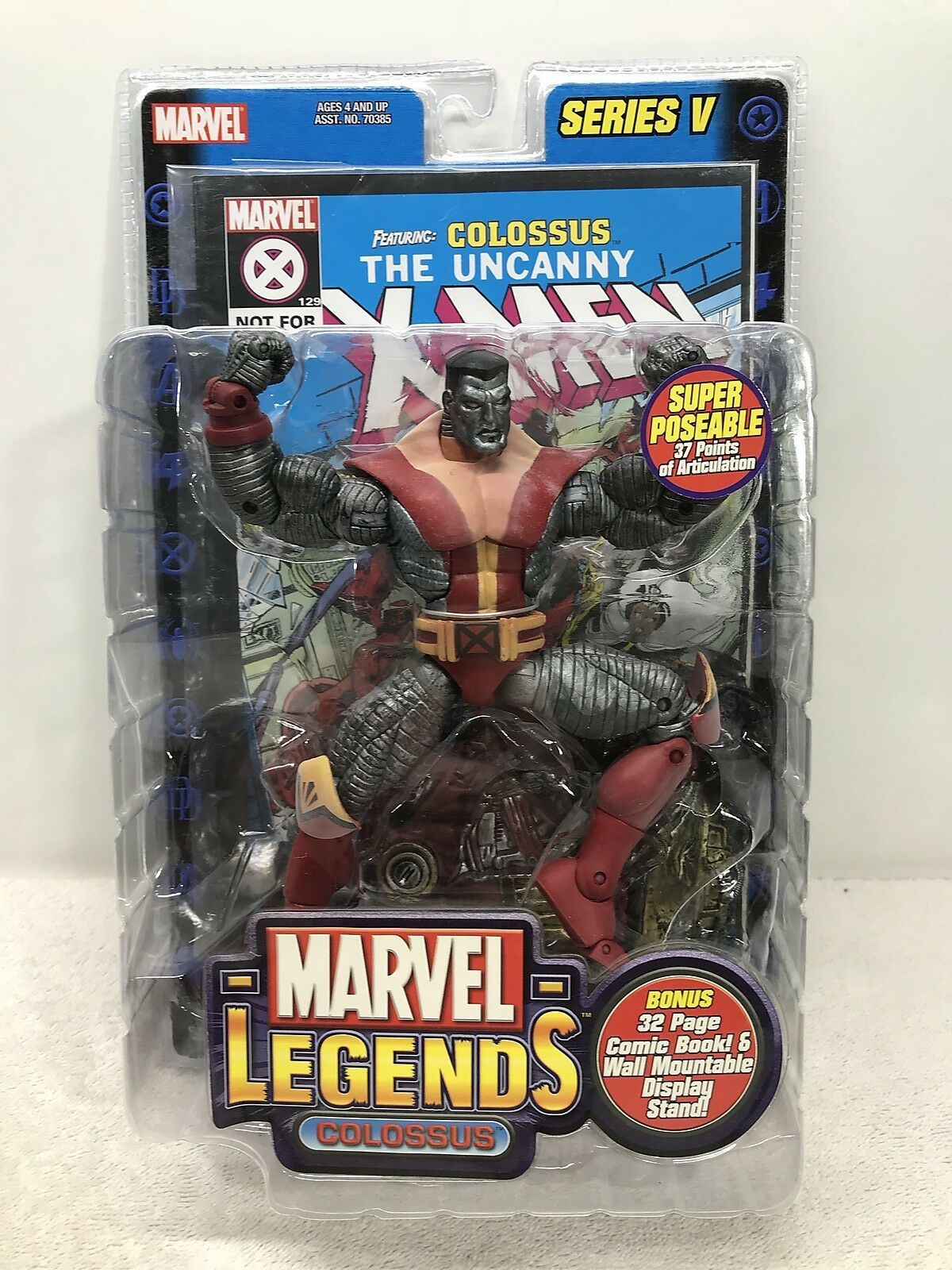 "Marvel Legends Colossus 7"" Action Figure Series V - ToyBiz 2003 FS"