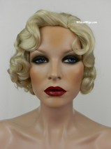 Fingerwave Quality Wig, Rose.  Color 613- Pale Blonde.  DOWNTON ABBEY!  - $34.99