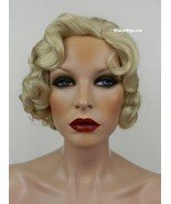 Fingerwave Quality Wig, Rose.  Color 613- Pale Blonde.  DOWNTON ABBEY!  - $534.99
