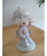 """1986 Precious Moments """"My Love Will Never Let You Go"""" Figurine  - $25.00"""