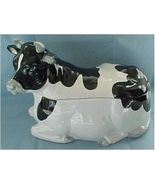 Ceramic Bovine Holds Bodacious Snacks! - $26.00