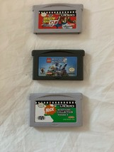 Game Boy Pack Of 3  Dragón Ball GT,Lego Knights KindogDom, Nicktoons Col... - $14.24