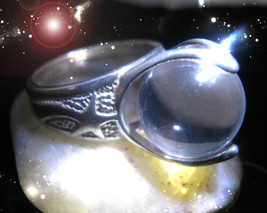 Haunted Ring The Masters Circle From Mage To Master Secret Ooak Magick Power - $8,777.77