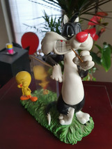Extremely Rare! Looney Tunes Sylvester and Tweety Picture Frame Figurine... - $346.50