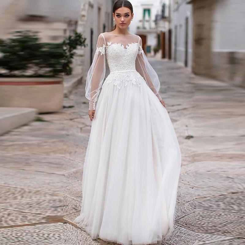 sleeves bridal wedding gowns buttons backless floor length 0ccf3658 6e57 4c21 8645 9f213f460ced