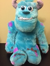 Monsters Inc University Talking My Scare Pal Sulley Plush Disney Pixar  - $14.85
